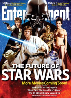 Not the last time you'll see Star Wars on EW's cover.