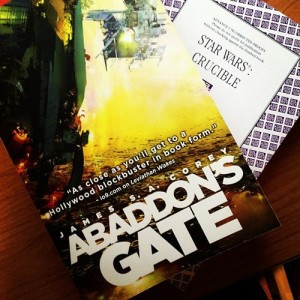 Abaddon's Gate and Star Wars: Crucible.